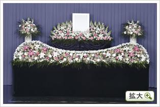 生花祭壇A(ピンク)