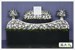 生花祭壇B(ブルー)