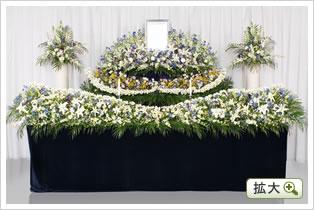 生花祭壇E