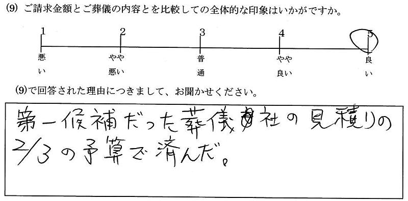 お客様の声13:埼玉・男性
