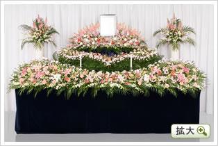生花祭壇D
